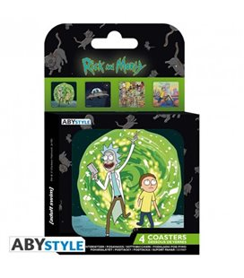 Rick & Morty - Coasters/Sottobicchieri Generic