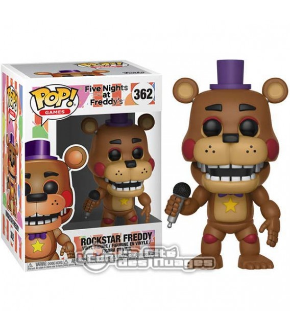 "XXXFIVE NIGHTS AT FREDDY'S - POP! ""ROCKSTAR FREDDY"""