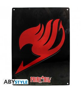 Fairy Tail - Meyal Plate/Placca Di Metallo Emblema