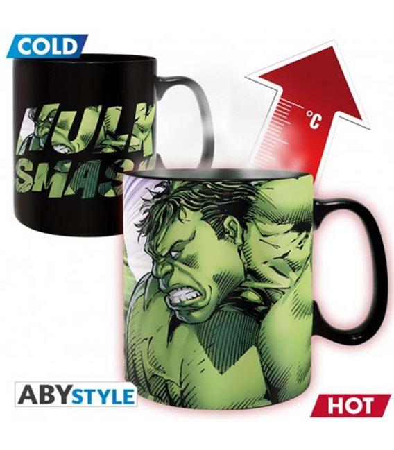 Marvel - Tazza Termica/Mug Heat Change - King Size 460Ml - Hulk