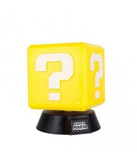 Super Mario - Mini Lamp/Lampada 10 Cm Question Block