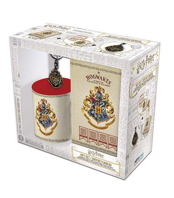Harry Potter - Gift Box - Keyring - A6 Notebook - Mug 320 Ml