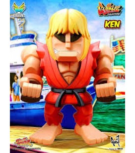 """STREET FIGHTER - ACTION FIGURE KING SIZE 30 CM """"KEN CLASSIC RED"""""""
