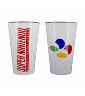 Nintendo - Glass/Bicchiere Super Nintendo