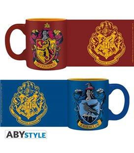 Set Di 2 Minitazze Harry Potter: Grifondoro E Corvonero - 110 Ml - Abystyle