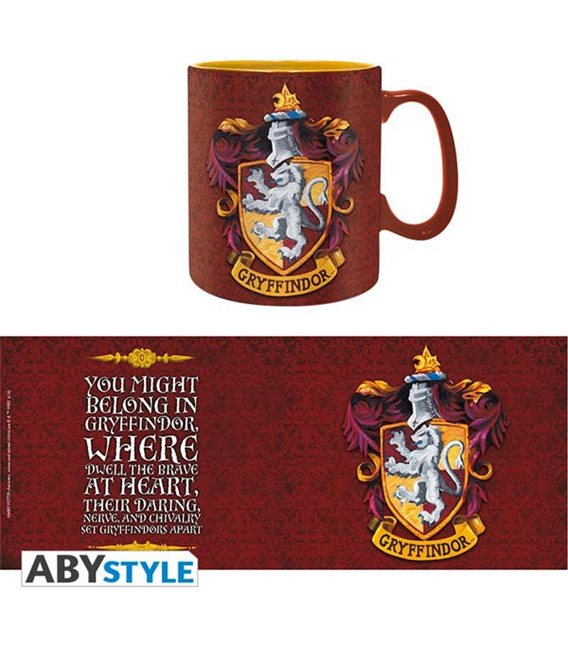 Tazza Harry Potter Grifondoro - Gryffindor Mug - 460 Ml - Abystyle