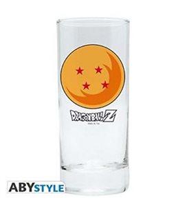 Dragon Ball - Bicchiere/Glass - Sfera 4 Stelle/Sphere 4 Stars