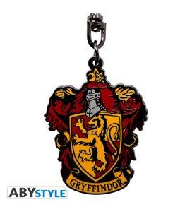 Abystyle - Harry Potter Portachiavi/Keyring - Stemma/Badge Grifondoro