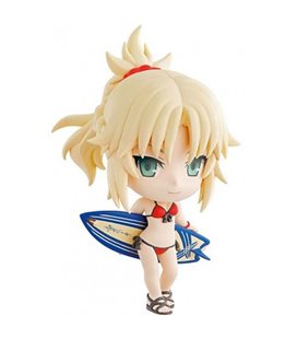 Fate Grand Order - Action Figure Mordread Kyun Chara - 10 Cm