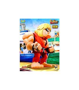Street Fighter Ii - Big Boys Toys - Bulkyz Series - Action Figure - Pvc - Ken - 30 Cm - Pvc