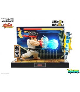 Street Fighter Ii - Diorama - Action Figures - Big Boys Toys - With Sounds And Lights - Luci E Suoni - Pvc - Ryu