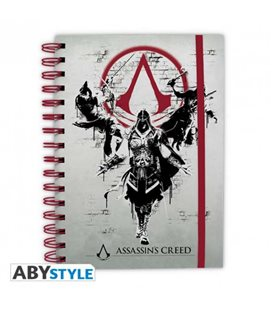 Quaderno Ad Anelli Assassin'S Creed Legacy - Formato A5 - Abystyle