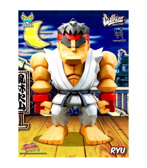 """STREET FIGHTER - ACTION FIGURE KING SIZE 30CM """"RYU CLASSIC WHITE"""""""