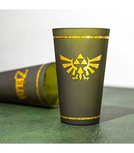 The Legend Of Zelda Link's Bicchiere - Glass con logo 450Ml - Paladone