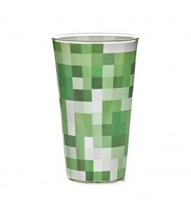 Bicchiere Creeper Minecraft - Creeper Glass 450 ml - Paladone