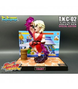Street Fighter Ii - Diorama - Action Figures - Big Boys Toys - With Sounds And Lights - Luci E Suoni - Pvc - Violent Ken Limit