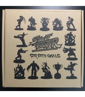 Street Fighter The Miniatures Game Stretch Goals set Jasco Games - Kickstarter ed - 12 Miniature