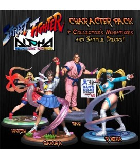 Street Fighter Alpha The Miniatures Game Stretch Goals set Jasco Games - SFV
