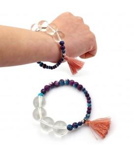 Bracciale Bracelet Rosario della Preghiera dello Shinobi Ninja Spadaccino - Pidak Shop