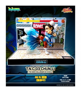 Street Fighter II - Diorama - Action Figures - Big Boys Toys - WIth sounds and lights - Luci e suoni - PVC - Chun Li