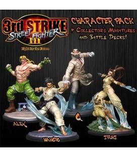 Street Fighter 3rd strike The Miniatures Game Stretch Goals set Jasco Games - SFV