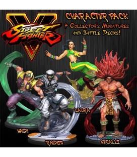 Street Fighter V The Miniatures Game Stretch Goals set Jasco Games - SFV