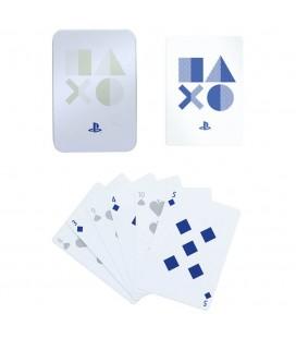 Carte da Gioco Ufficiali Playstation 5 con Box in Metallo - Paladone Products