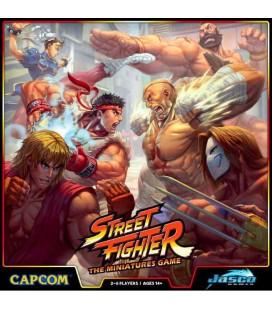 Street Fighter The Miniatures Game Core Box Board Game Jasco Games - Kickstarter ed
