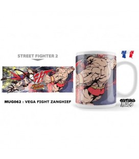 Street Fighter - Mug/Tazza 300Ml Vega Vs. Zangief
