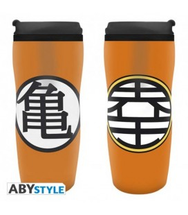 "DRAGON BALL - TRAVELMUG/TUMBLER/TAZZA DA VIAGGIO ""DBZ/KAME"""
