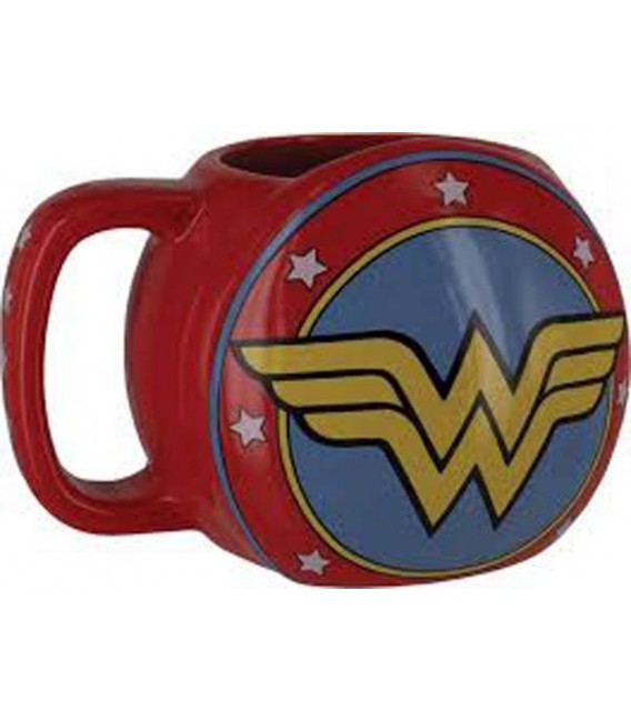 "WONDER WOMAN - MUG/TAZZA 300 ML ""WONDER WOMAN SHIELD"""