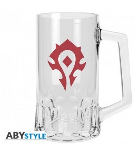 "WORD OF WARCRAFT - BOCCALE/TANKARD 50CL ""HORDE EMBLEM"""