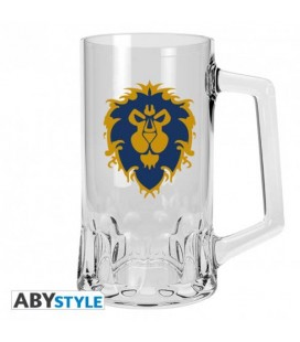 "WORLD OF WARCRAFT - BOCCALE/TANKARD 50CL ""ALLIANCE EMBLEM"""