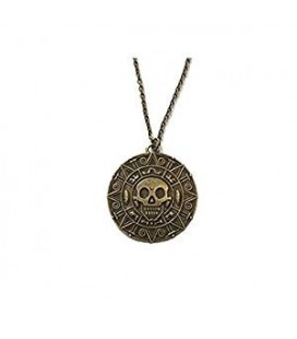 "PIDAK SHOP - NECKLACE COLLANA ""MEDAGLIONE PIRATA/PIRATE MEDALLION"""