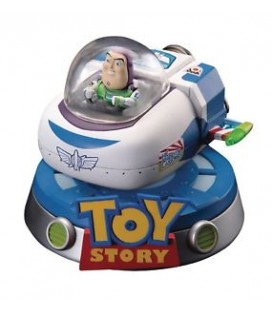 "TOY STORY - ACTION FIGURE ""BUZZ'S SPACESHIP FLOATING"""