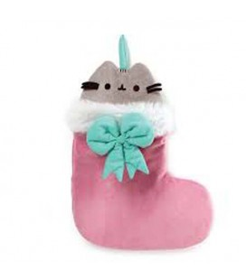 "PUSHEEN THE CAT - GADGET ""CHRISTMAS SOCKS/CALZA NATALIZIA 45 CM"""