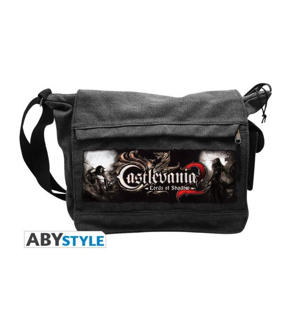 "CASTELVANIA 2 - TRACOLLA/SHOULDERBAG - STEMMA/BADGE ""LORD OF SHADOW"""