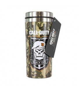 "CALL OF DUTY - TRAVEL MUG / BICCHIERE DA VIAGGIO""BLACK OPS 4"""