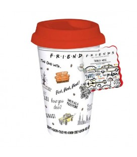 "FRIENDS- TRAVEL MUG/TAZZA DA VIAGGIO ""FRIENDS"""