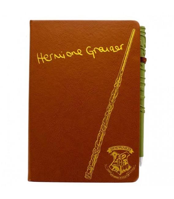 """XXXHARRY POTTER - NOTEBOOK + PEN """"HERMIONE"""""""