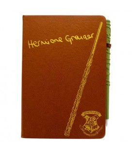 "HARRY POTTER - NOTEBOOK + PEN ""HERMIONE"""