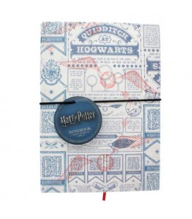 "HARRY POTTER - NOTEBOOK + PEN ""QUIDDITCH"""