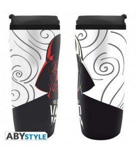 "STAR WARS - TRAVELMUG/TUMBLER/TAZZA DA VIAGGIO - ""DARTH VADER GRAPHIC"""