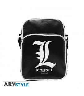"DEATH NOTE - TRACOLLA/SHOULDER BAG - EMBLEMA/EMBLEM ""L"""