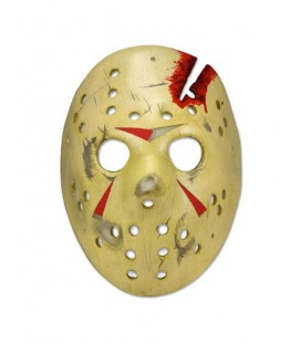FRIDAY THE 13TH - Venerdì 13 - Chapter 4 - Maschera Mask Cosplay Scala 1:1 Indossabile in Pvc - Ufficiale By Neca
