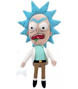 "RICK AND MORTY- PLUSH/PUPAZZO ""RICK WORRIED 41CM"""