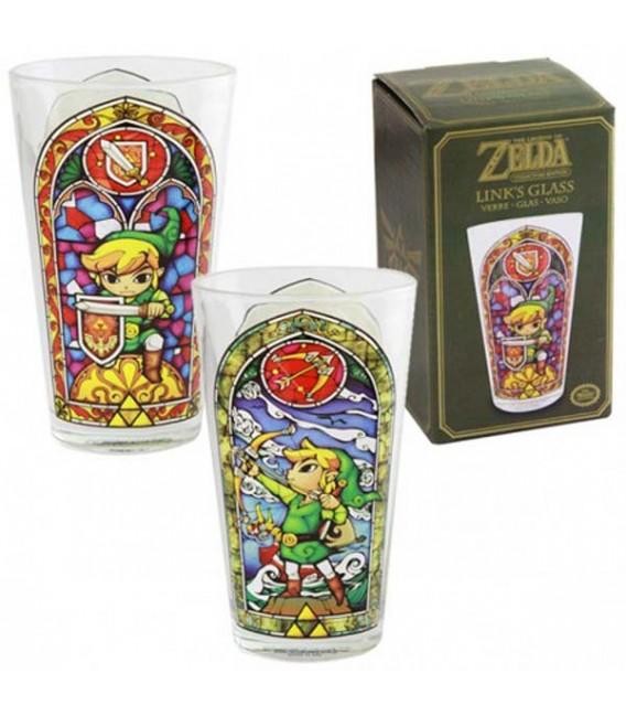 "THE LEGEND OF ZELDA - GLASS / BICCHIERE 400ML ""LINK'S"""