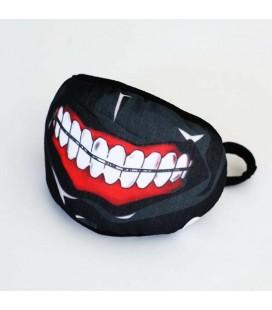 Maschera del mostro ghoul cannibale - in poliestere taglia unica
