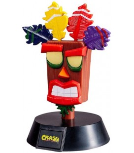 CRASH BANDICOOT AKU AKU LAMPADA - LAMP - LIGHT - 12 CM TOUCH