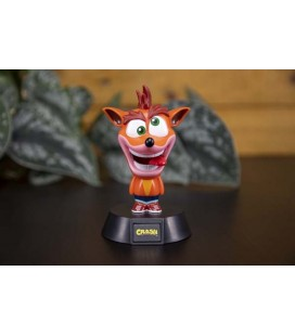 Crash Bandicoot - Paladone - Lampada Light - Icon Light - 14 Cm -